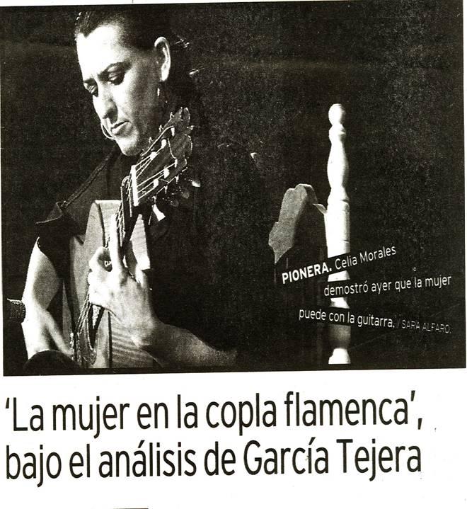 XXXV Congreso Internacional de Flamenco de Cádiz y Los Puertos (2)  Celia Mo...